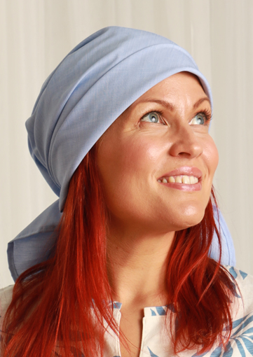 Ainamuoti ScarfHat Light Blue
