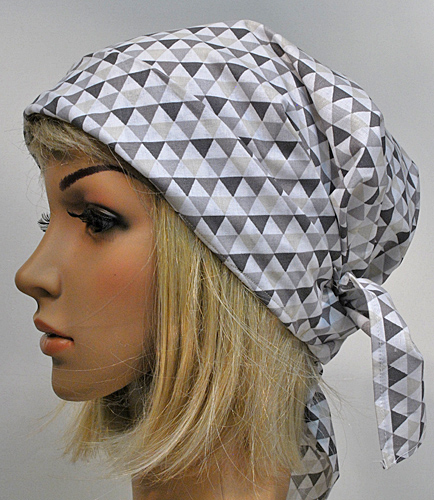 AM Scarf Hat triangles