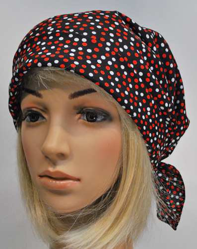 Scarf Hat Red spots
