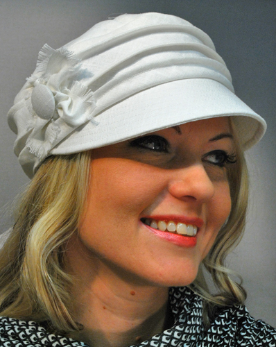 AM Lilli Linen Cap for Ladies