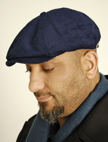 Brixton Brood Cord Cap Blue