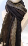 H&S KS-Scarf brown
