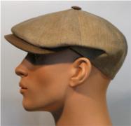 Kn two-color linen Cap