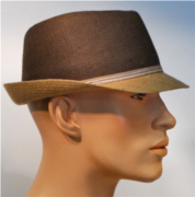 KN two-color summer trilby M