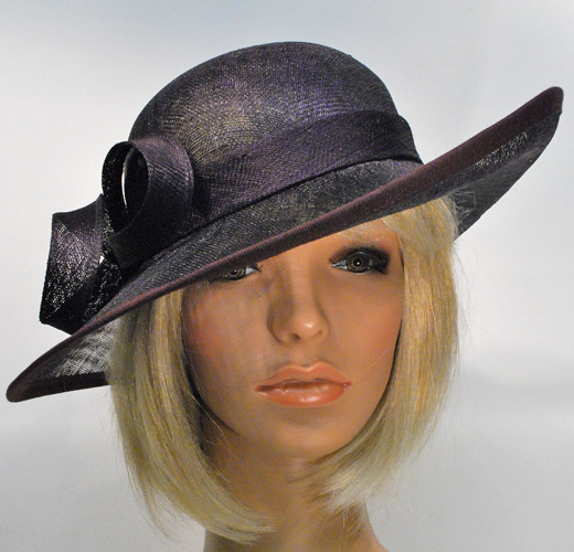 KN Ceremony Hat 7450 dark lilac