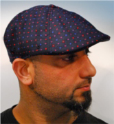 Kangol Plaid flexfit 504 GEO