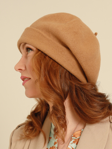 Kopka Roll Up Beret Wool