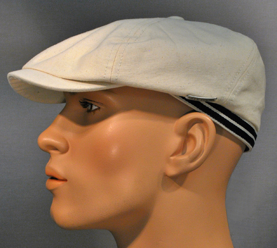 Stetson 6-Panel Cap Canvas