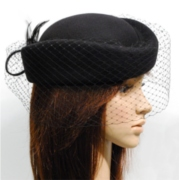 Pill Hat with veil