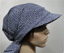 Scarf hat with visor Balls