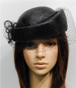 Sisol Pill Hat 38B with veil