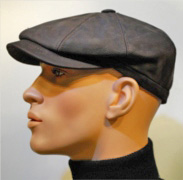 Fiebig Leather Cap brown