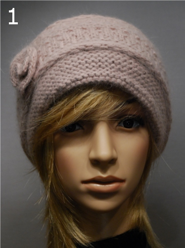 Lovely Angora Hat 28380