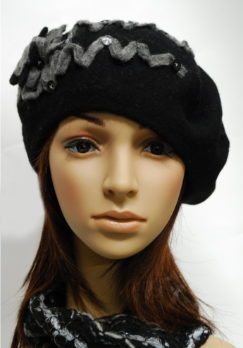 decorative beret