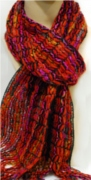 HS scarf 12465 red
