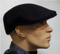 Wool Cap 504 dark blue
