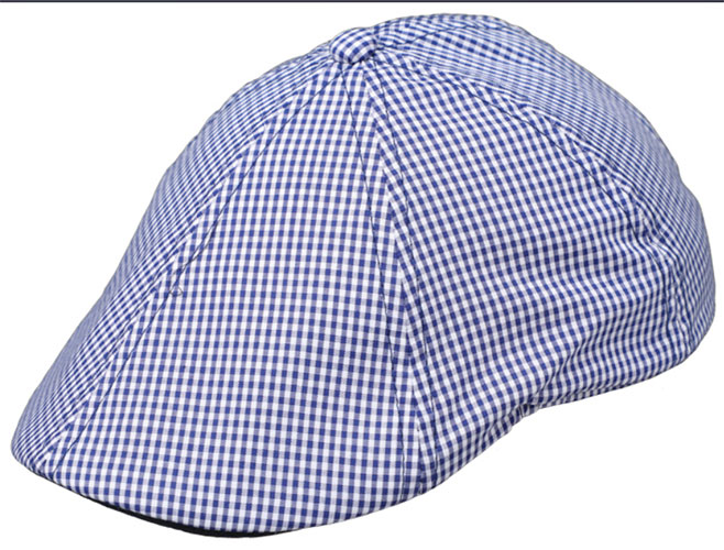 Fiebig Boys Cap in blue and white