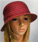 Seeberger cloche - straw hat